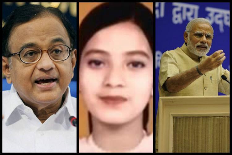 Did P Chidambaram lie about Ishrat affidavits to corner Narendra Modi