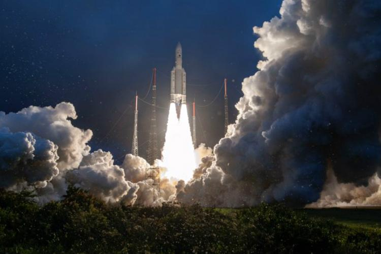 ISROs GSAT-30 satellite successfully launched aboard Ariane rocket