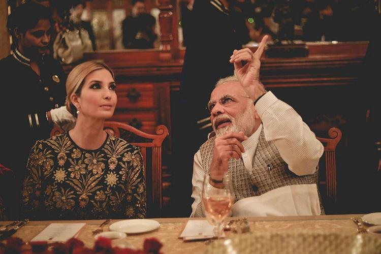 In pictures Modis lavish dinner for Ivanka Trump and other GES delegates