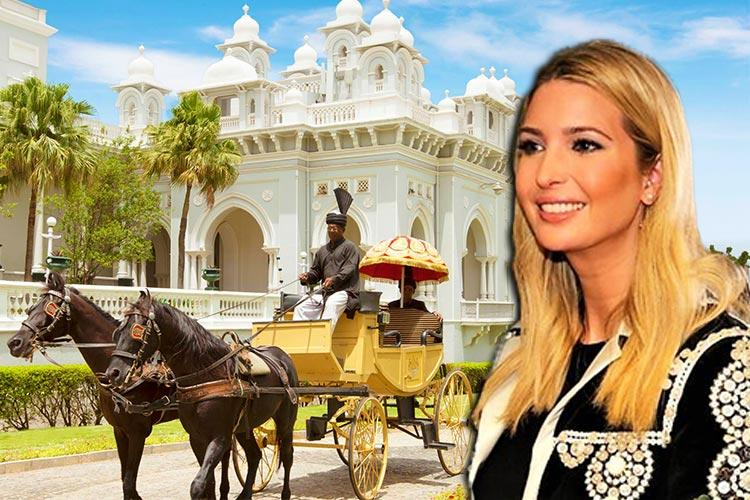 Royal welcome for Ivanka Trump All you need to know about her dinner at Falaknuma