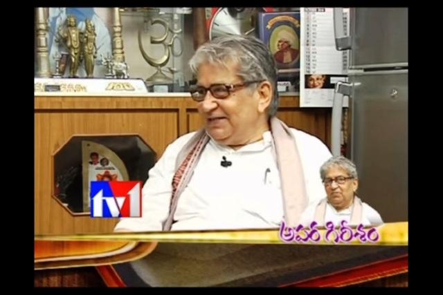Veteran Telugu actor JV Ramana Murthy passes away at 83