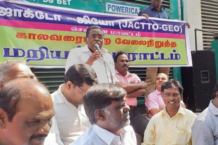Madras HC orders striking TN govt school teachers to return to work by Jan 25