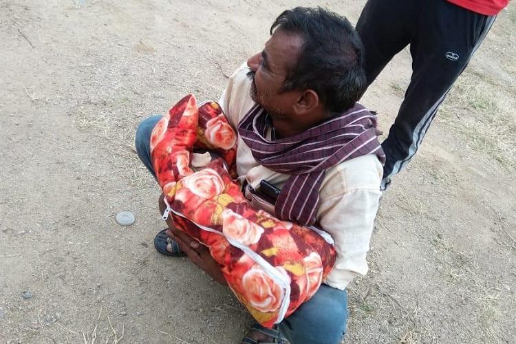Attempt to bury alive baby girl near Hyderabads Jubilee bus station grandad held