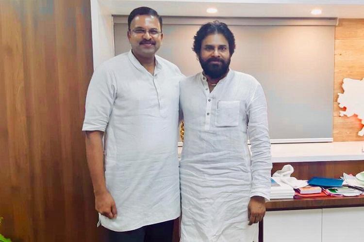 Ending speculation ex-CBI JD Lakshminarayana joins Pawan Kalyans Jana Sena