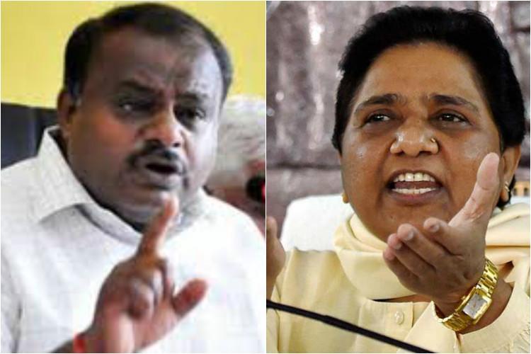 BSP, JDS to Join Hands Ahead of Karnataka Polls