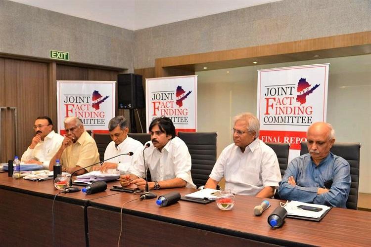 From special status to Polavaram Pawan Kalayans JFC report on bifurcation