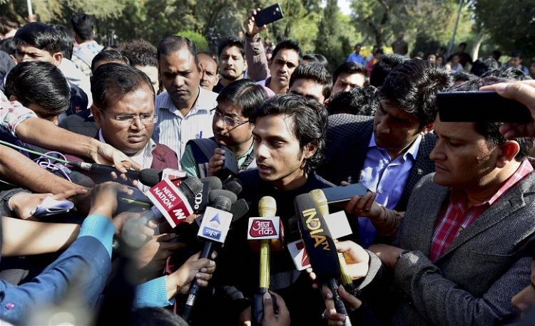 I am being targeted because I am a Dalit JNUSU General Secretary