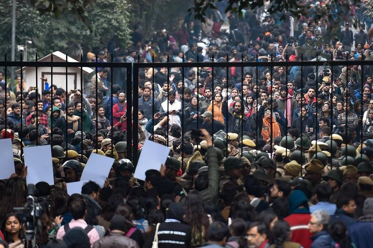 Detractors did everything to discredit JNU students resisted and hence the violence JNU prof
