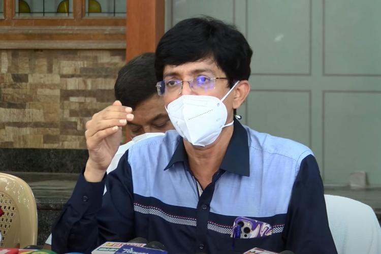 Tamil Nadu Health Secretary J Radhakrishnan