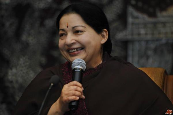 DMK-Congress alliance a loot coalition says Jaya asks people to give fitting reply in polls