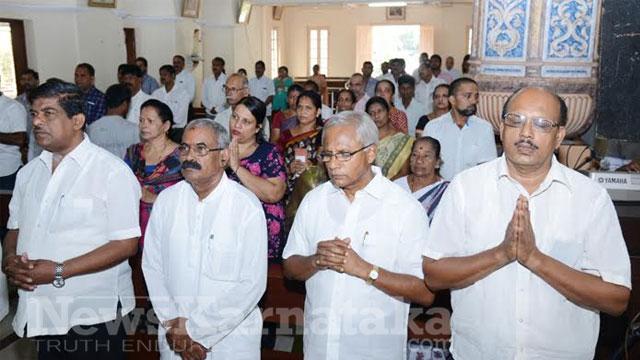 Its raining prayers as Karnataka ministers MLAs go knocking on gods doors