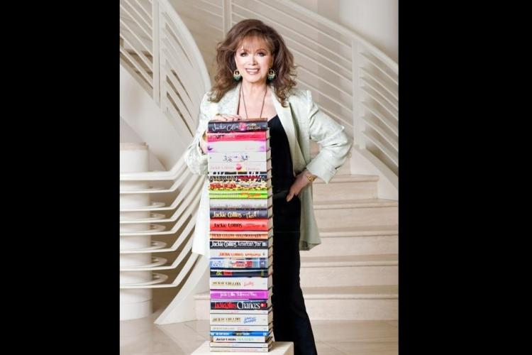 Best-selling author Jackie Collins dies at 77
