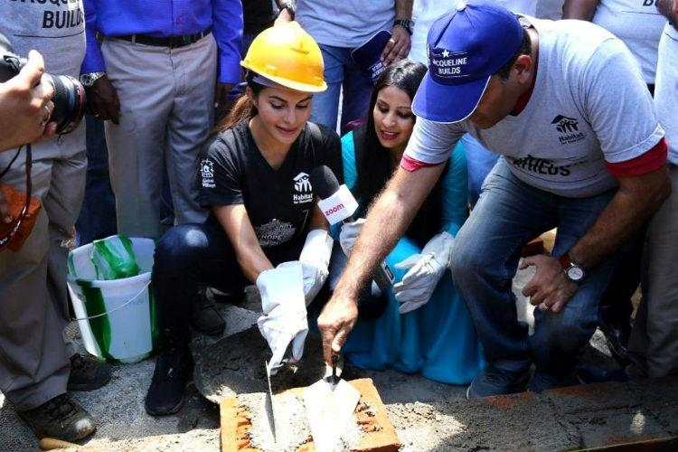 Actor Jacqueline partners with NGO to rebuild flood-hit homes in Kerala