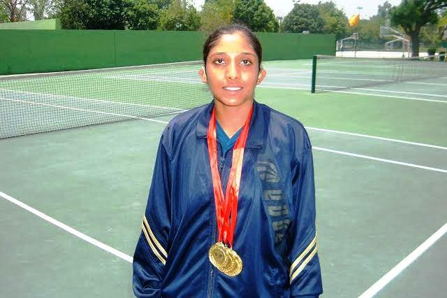 This hearing-impaired national tennis champion is facing a fund crunch and needs help