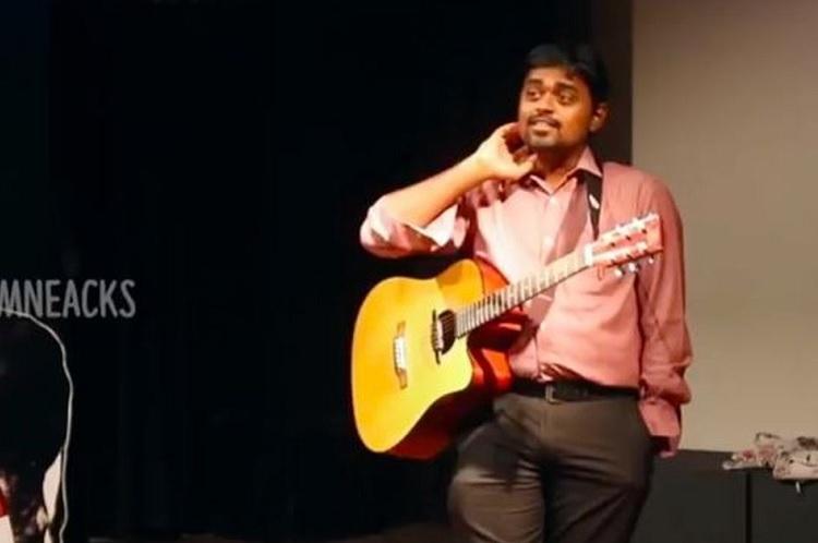 Watch Standup comedians accurate imitation of Ilaiyarajaa and AR Rahman fans