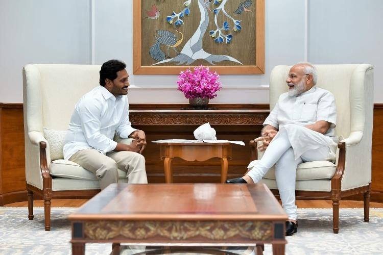 Will keep insisting for Special Category Andhra CM-in-waiting Jagan meets PM Modi