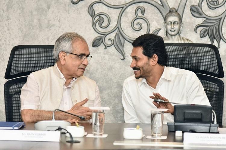 Niti Aayog concerned over Andhras revenue deficit CM Jagan seeks Centres help
