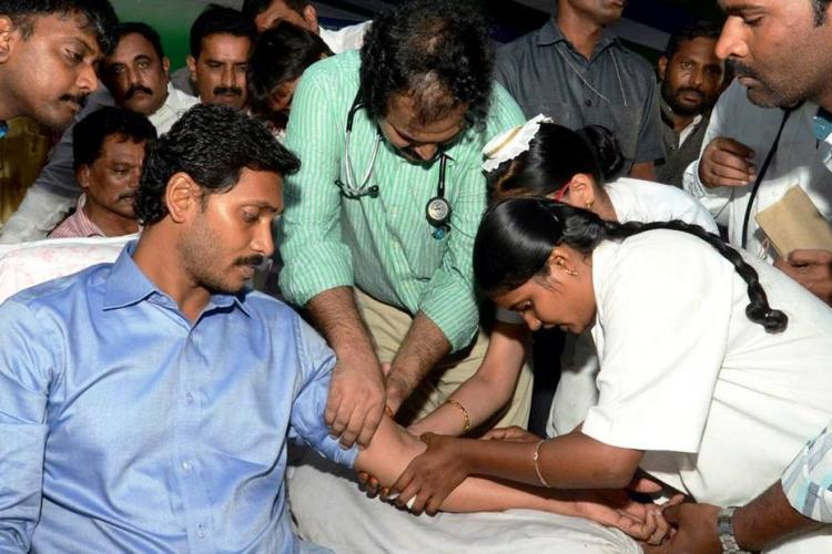 Andhra govt to probe if Jagan is faking his fast