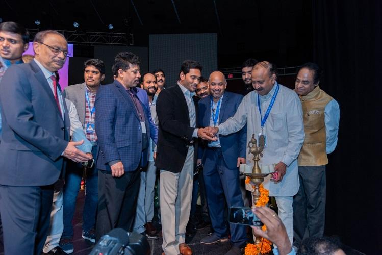 BJP dubs Jagan anti-Hindu for failing to light lamp at US event but it was electric