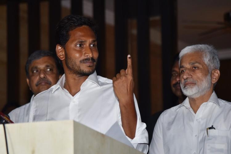 AP CM resorting to mudslinging for fear of losing Jagan lashes out at Naidu