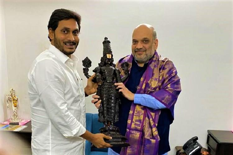 Andhra CM Jagan calls on Amit Shah over Disha Act seeks BJP help for Parliament nod