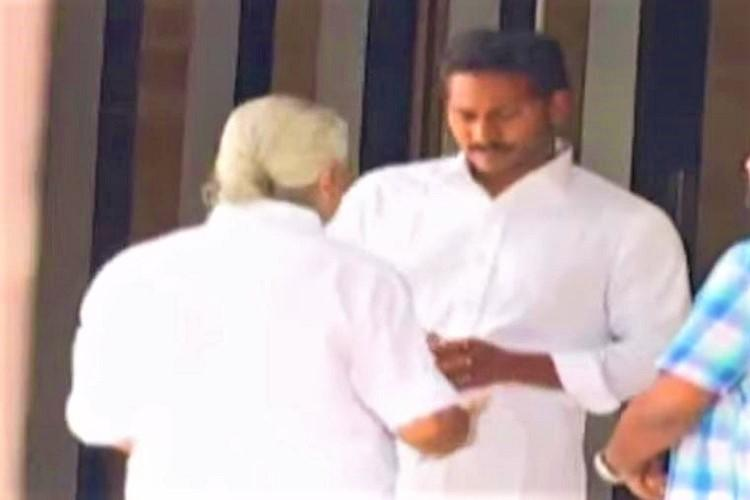 TTD controversy heats up Former chief priest meets Jagan seeks support
