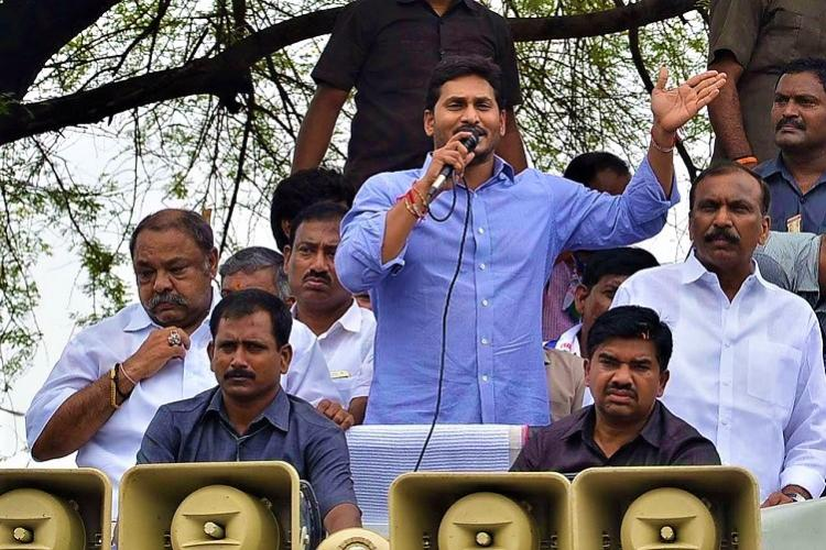 As TDP vs BJP battle plays out in Andhra Jagan has no option but to wait and watch