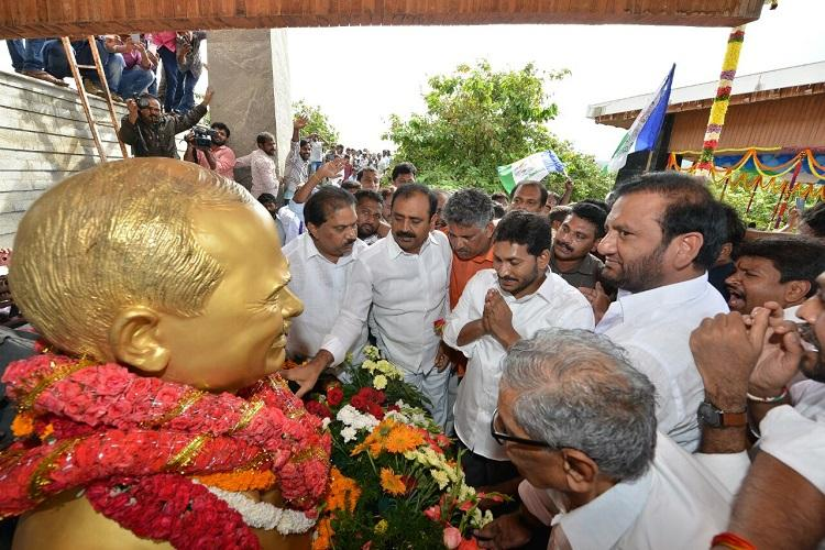Jaganmohan Reddy follows father YSRs footsteps launches 6-month-long padayatra in Andhra