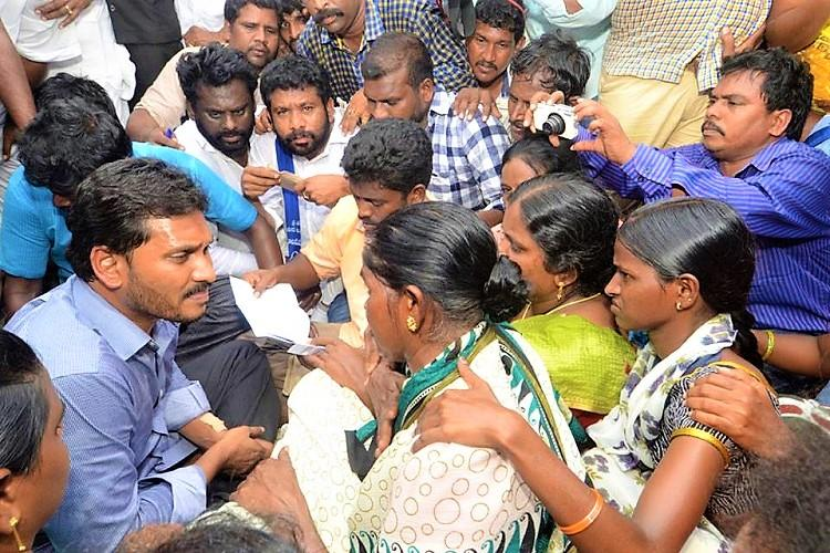 Jagan visits Andhra village where Dalits faced boycott YSRCP to form panel
