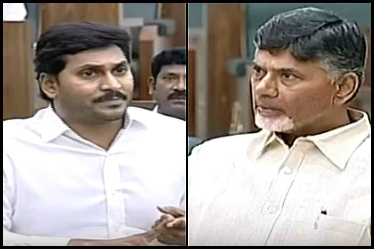 Andhra CM Naidu and YS Jagan spar as ruckus continues over alleged SSC paper leak