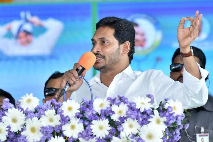 Andhra capital row Want good of all says Jagan amid protests in Amaravati