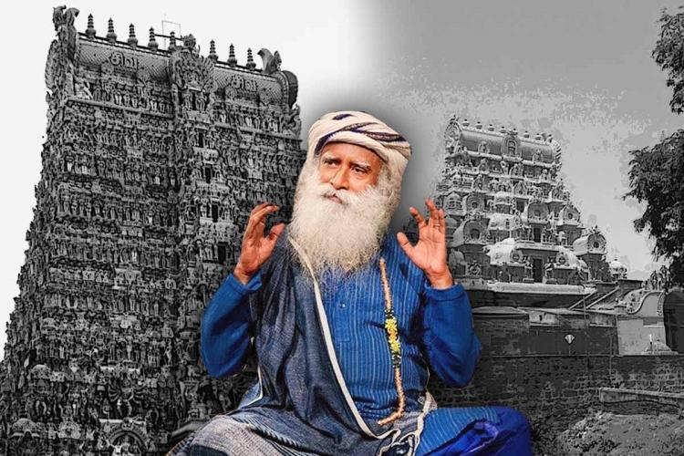 Jaggi Vasudev temples free petition