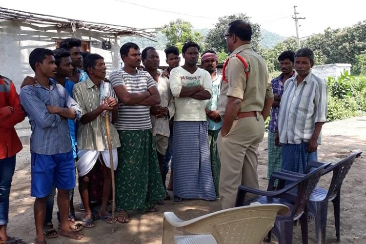 Telangana villagers try to tonsure parade woman for inter-caste love cops rescue her