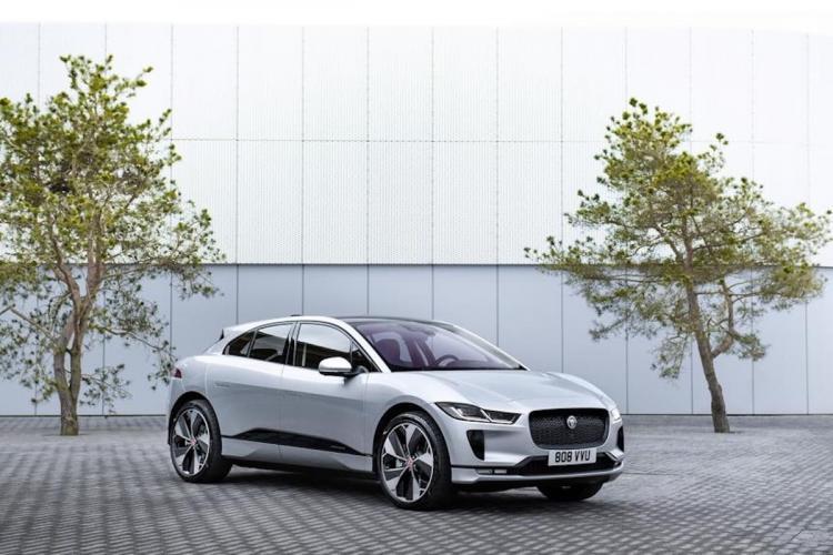 Jaguar Electric car I-Pace car