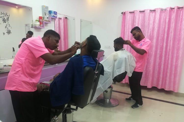 Prison inmates in Kerala turn abandoned building into a mens beauty salon