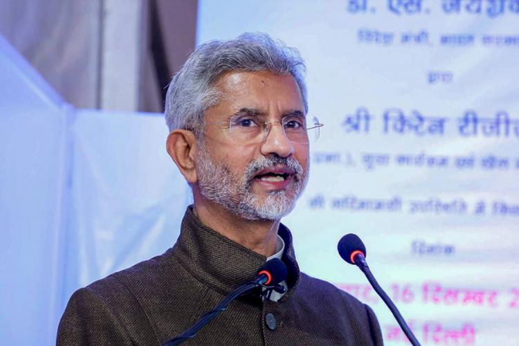 Delhi CM doesnt speak for India Jaishankar on Kejriwals Singapore variant remark