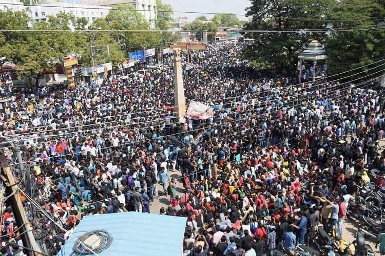 As Jallikattu protests explode Madras HC Central Minister say wont interfere