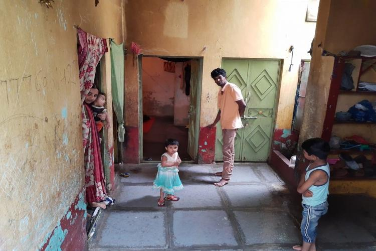 54 year-old Asma and 12 other members of her family who live in Jamali Kunkta at Tolichowki in Hyderabad havent slept a wink all night on Friday The family spent all night drawing out rainwater from their 500 square feet rented home