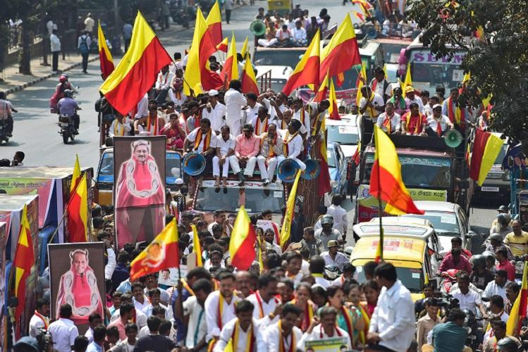 Karnataka bandh on Mahadayi dispute disrupts normal life remains peaceful