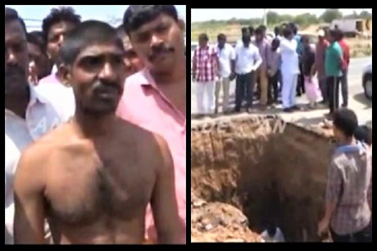 How one Telangana mans dream of finding a Shiva linga underground wrecked a highway