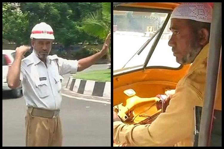 This Hyd traffic home guards resolve to educate his daughters has him driving an auto by night