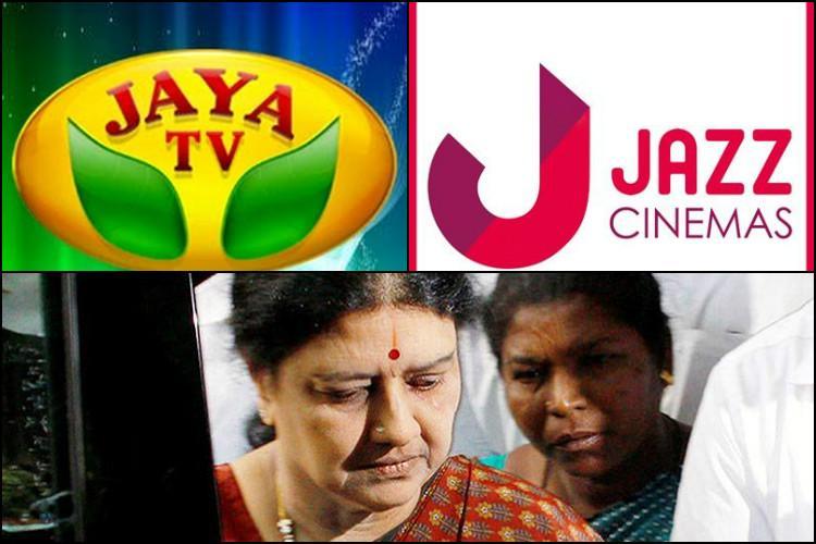 Tax raids on Jaya TV Jazz Cinemas and other Sasikala-family-linked businesses