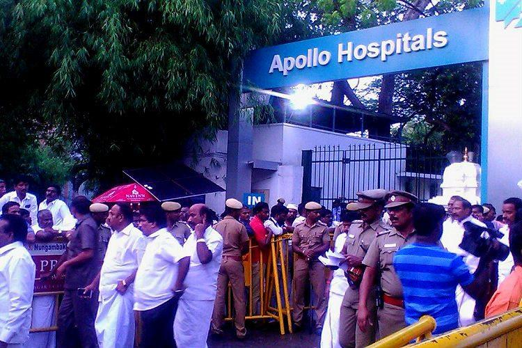 A night vigil outside Apollo How Jayalalithaas supporters are coping with her cardiac arrest