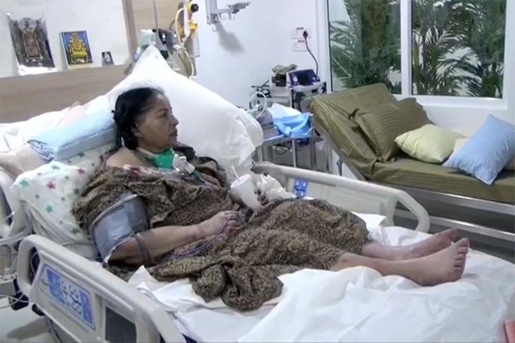 1st video of Jayalalithaa in hospital TTV aide releases visuals to disprove rumours