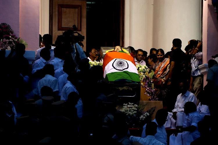 Madras HC expresses doubts over Jayalalithaas death asks Why cant we order exhumation of body