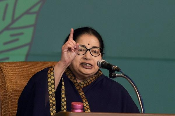 Even on polling day Jayalalithaa has little to say to the media