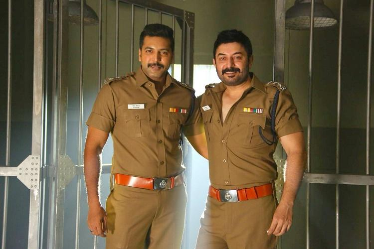 Bogan teaser out Arvind Swamy and Jayam Ravi look like theyre having a blast