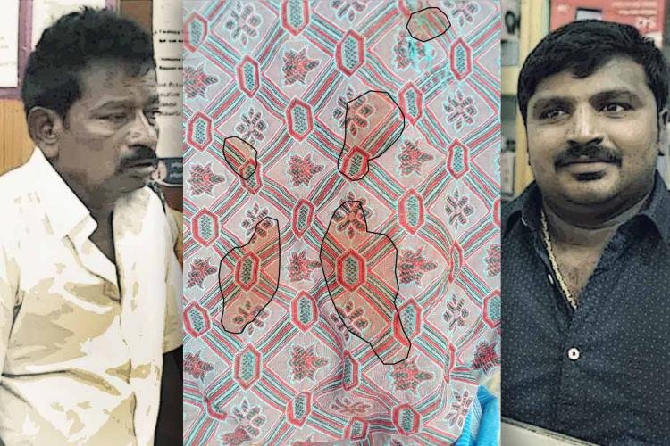 Blood stained blanket submitted as evidence to Kovilpatti magistrate in Sathankulam custodial deaths case.