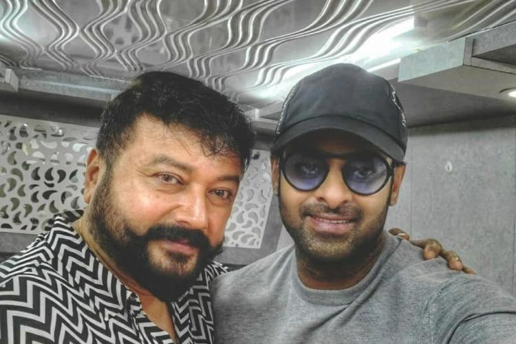 Jayaram joins sets of Prabhass Radhe Shyam