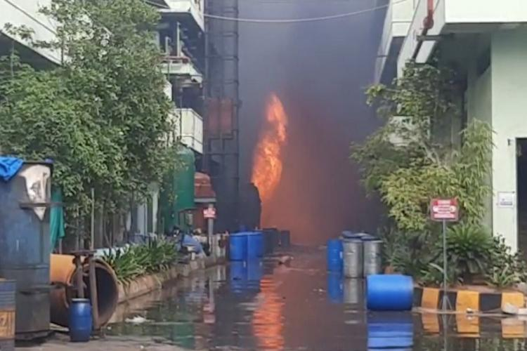 Fire breaks out at a pharma company in Hyderabad industrial area